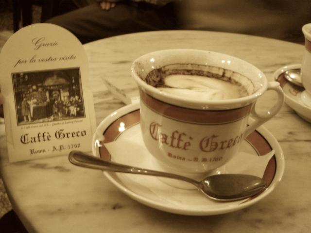 Antico Caff   Greco - Просыпаемся!