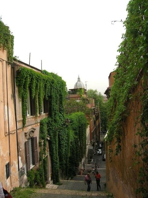 Gianicolo 161 - Как не потеряться в Трастевере?