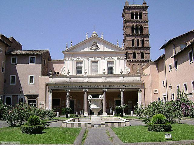 arte roma 020 s cecilia trastevere - Как не потеряться в Трастевере?