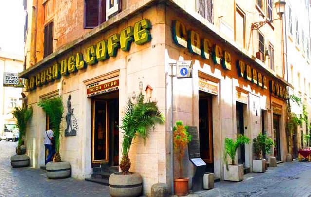 la casa del caffe tazza d oro - Просыпаемся!