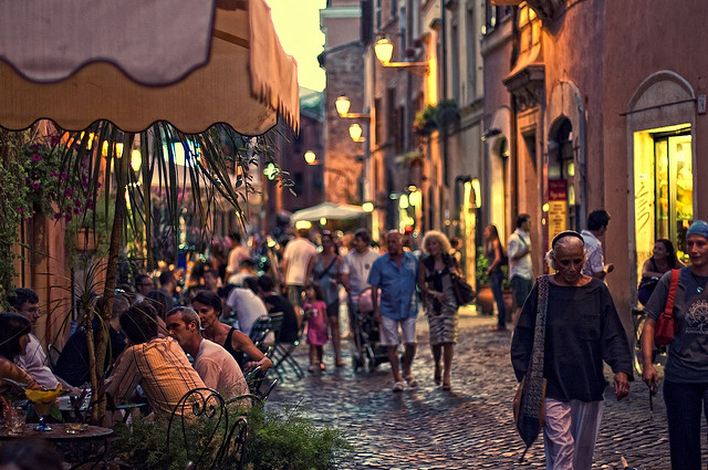 mangiare a trastevere - Как не потеряться в Трастевере?