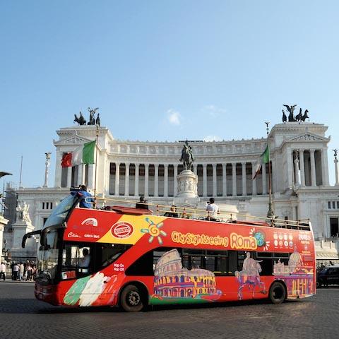 citysightseeing - Путеводитель по римскому транспорту