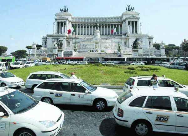 sciopero taxi 2301 - Путеводитель по римскому транспорту