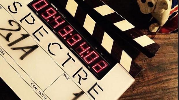 Spectre iniziate le riprese e prima foto dal set di Bond 24 - Рим в Спектре Бонда
