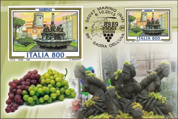 CARTOLINA POSTE ITALIANEFORMATO MARINORM 89   SAGRA DELLUVA 2013 600x400 - День на настоящем сельском празднике (sagra)