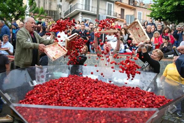 Fragole 11 600x400 - День на настоящем сельском празднике (sagra)