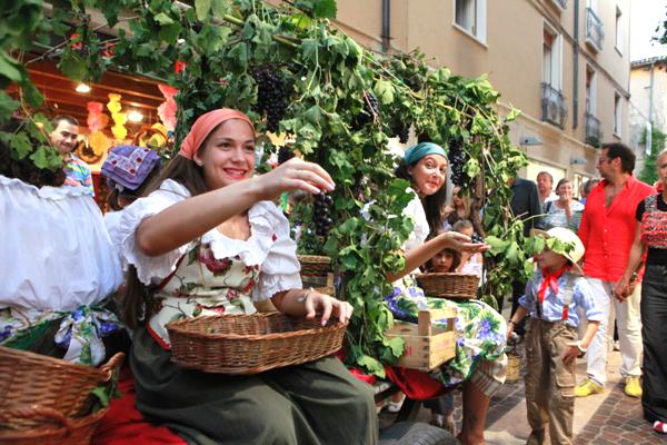 festa del vino a paliano - День на настоящем сельском празднике (sagra)