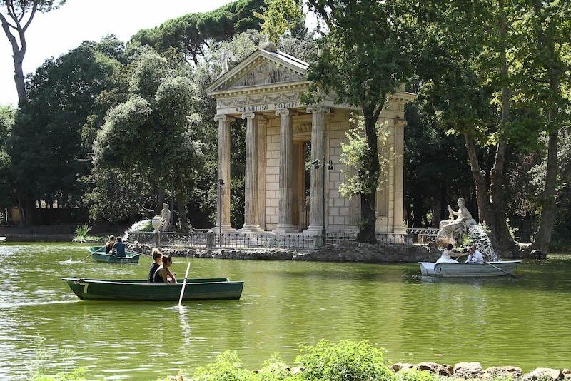Villa Borghese 5 - Рим всей семьей: куда пойти с ребенком