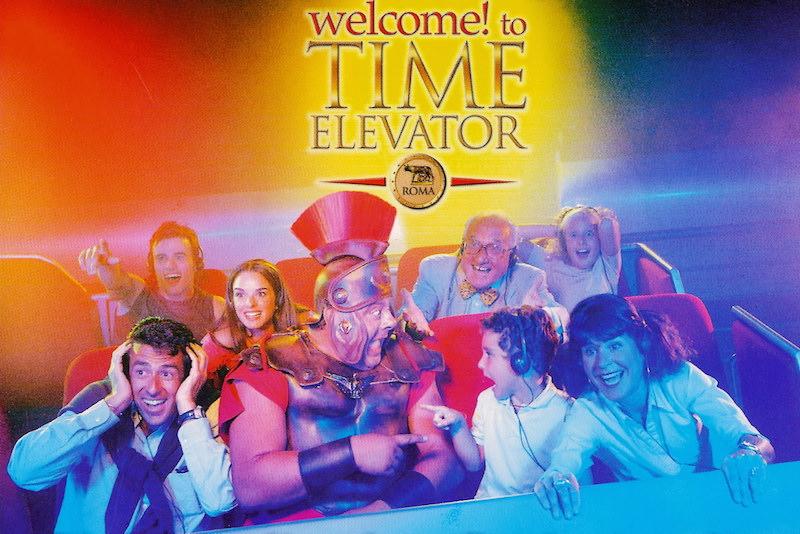 time elevator - Рим всей семьей: куда пойти с ребенком