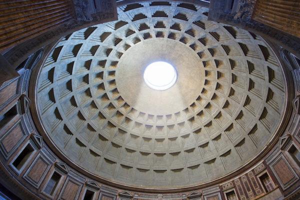 55 Panteon 117  I 125  Kupola 600x400 - Рим - любовь с первого взгляда