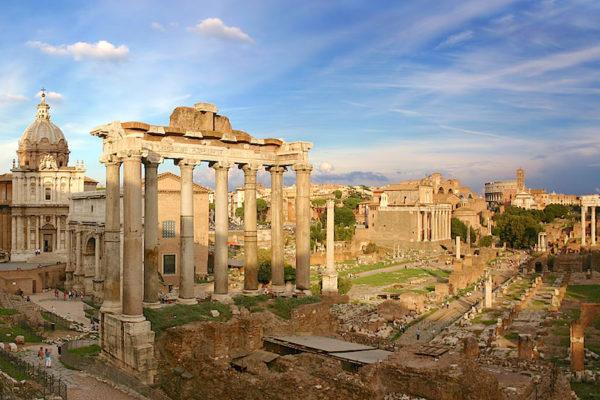 forum romanum rom 600x400 - Рим - любовь с первого взгляда