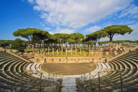 ostia antica 444x297 - Остия Антика - древнеримский город