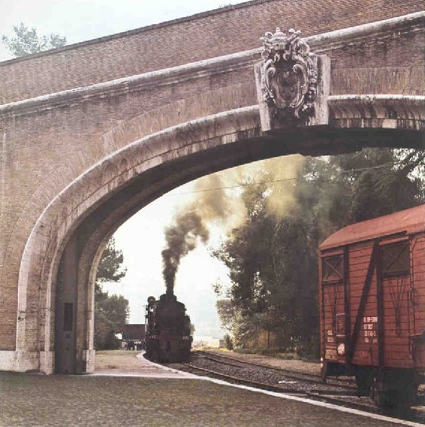 ferrovia vapore 4 - На электричке на дачу к Папе Римскому