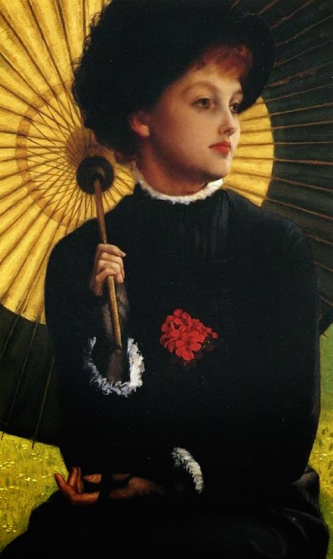 1879-james-tissot-mrs-newton-with-a-parasol-detail-2