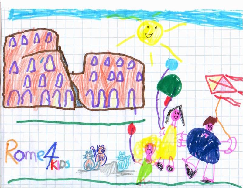 kids2 small - Рим всей семьей: куда пойти с ребенком
