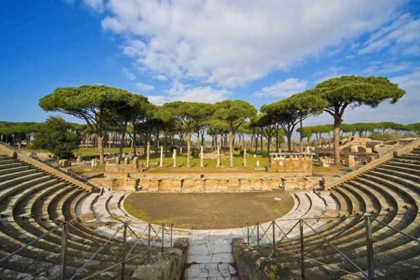 ostia antica 600x400 - Остия Антика - древнеримский город